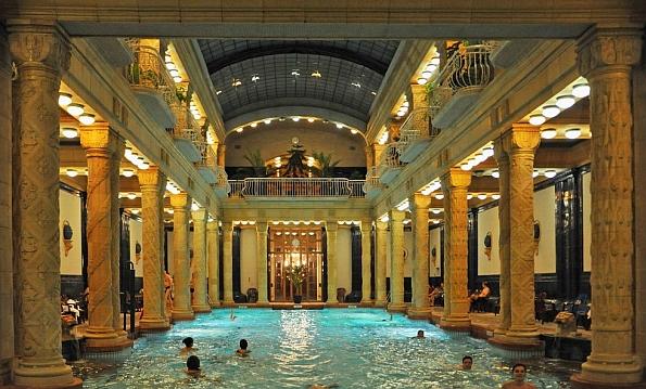 Budapest egyik legismertebb fürdője a Gellért